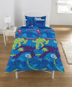 Transformers 'Dark Side of the Moon' Children's Single Bedding Set - Great Gift Idea For a Transformers Fan