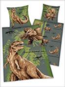 Dinosaur Bedding Bedcover, 100% Cotton Linon,