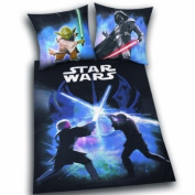 Herding 447245050 Bed Sheets Star Wars 80x 80 cm + 135x 200 cm Linon