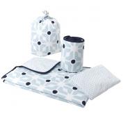Olli Ella Cot Bed Linen Set with Half Bumper