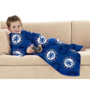 Chelsea FC Football Club Crest Snuggle Fleece Throw
