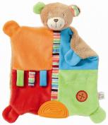 Fehn 091090 Activity Cloth Teddy Bear Brown / Multicoloured