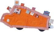 Vital Innovations Label-Label LL0813M Cuddle Blanket Bus Terrycloth Orange