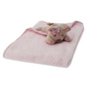 Walton Baby - Dotty Bear Baby Blanket - Pink