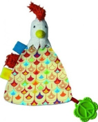 Peace & Love, the Happy Farm Flat Cuddly Toy : Bob the Rooster