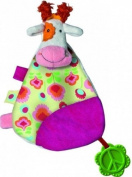 Peace & Love, the Happy Farm Flat Cuddly Toy : Anemone the Cow