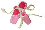 Sarah Sherrington Designs Ballet Shoes Cot Pillow Case