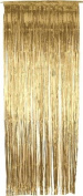 Gold Metallic Shimmer Curtain 0.9m x 2.4m - Pack of 5