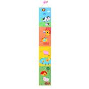 Children's Wooden Farm Themed Height Chart