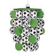 Childrens Green Football Bedroom/Nursery Ceiling Pendant Light Shade
