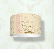 """Nursery Ceiling Light """"Teddy"""" - Hanging Lamp for the Children´s Room - KL02"""
