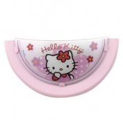 Dalber 30258 Hello Kitty Wall Appliqué Half-Moon Glass and Metal
