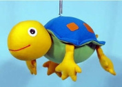 Blue and Yellow Turtle Springy Decoration