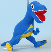 Springy T Rex Dinosaur Animal Brightly Coloured Mobile