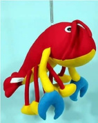Springy Lobster Animal Brightly Coloured Mobile