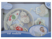 """""""Disney Baby"""" Pooh Doodles (Winnie the Pooh) Wind-Up Musical Baby Cot Mobile"""