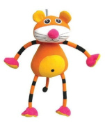 Springy Baby Tiger Animal Brightly Coloured Mobile