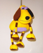 Springy Dog Animal Brightly Coloured Mobile