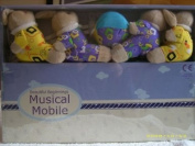 MUSICAL COT MOBILE ANIMALS
