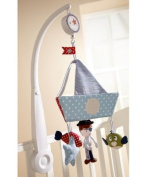 Mamas & Papas - Made With Love - Boys Luxury Cot Mobile