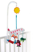 Little Helper Oops Baby Musical Cot Mobile with Soothing Lullabies includes A Car Aeroplane Dog Cat and Turtle From Sunshine City