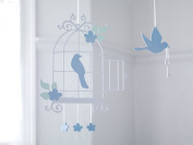 Bambizi Ltd Aegle Bird Cage Laser Cut Baby Mobile