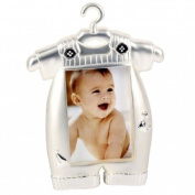 Silver Plated Baby Boy Photo Frame