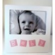 New Baby Photo Frame Pink