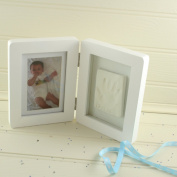 Baby Casting Imprint Kit & Photo Frame From Snuggle Collection