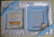 Baby Photo Album + Photo Frame - Blue
