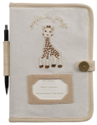 Health Record Booklet Cover - So Pure - Sophie the Giraffe