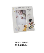 Cat and Fiddle Photo Frame