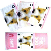 Artist Collection The Dog Hand Towels - The Dog Hand Towels - The Dog Bathroom Accessories - The Dog Kids Towels