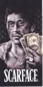 Scarface Al Pacino Tony Montana Hustler Beach Towel