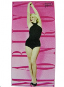 Marilyn Monroe Towel Pink Swim