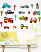 Nursery CAR Boys Bedroom Nursery Wall Stickers