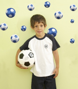 FunToSee Football Wall Stickers and Decals Set