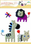 BabyToLove 360092 Wall Stickers Fabric Animal Nature
