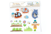 BabyToLove 360047 Wall Stickers Fabric Tortoise Family