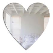Mungai Mirrors 45cm Heart Acrylic Mirror