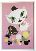 Littlephant Catfun Graphic Print