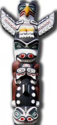 Totem Pole - Beach Party Lifesize Cardboard Cutout / Standee / Standup