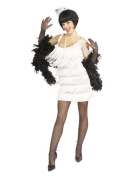 Broadway Babe Wearing White Dress - General Party Lifesize Cardboard Cutout / Standee / Standup