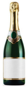 Bottle of Champagne - Birthday Party Lifesize Cardboard Cutout / Standee / Standup