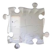 Mungai Mirrors 49cm Jigsaw Acrylic Mirror