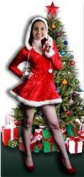 Mrs Christmas Stand-in Lifesize Cardboard Cutout