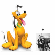 *FAN PACK* - Pluto (Disney) LIFESIZE CARDBOARD CUTOUT (STANDEE / STANDUP) - INCLUDES 8X10 (25X20CM) STAR PHOTO - FAN PACK #294