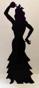 Flamenco Dancer (Silhouette) - Silhouette Lifesize Cardboard Cutout / Standee / Standup