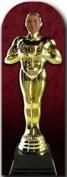 Golden Award Statue Stand-in Lifesize Cardboard Cutout 183cms