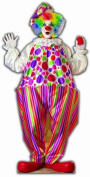 Party Clown - Birthday Party Lifesize Cardboard Cutout / Standee / Standup